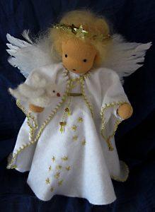 Friedensengel - Puppe nach Waldorfart