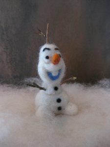 Olaf - gefilzter Scheemann