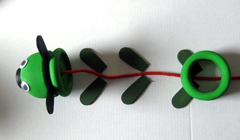 DIY - Basteln eines Kerzenhalters - Lebenslichter aus Gardinenringen