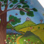Kinderzimmer-Wandgestaltung-Wandmalerei3