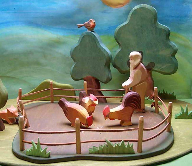 DIY Hühnergatter für Ostheimer Hühner