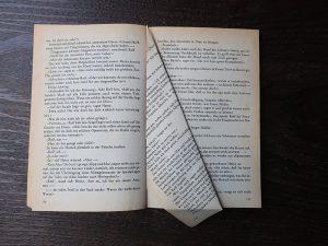 DIY Leseratte - Buchseite falten Teil 2