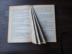 DIY - Leseratte - Buchseite falten Teil 3