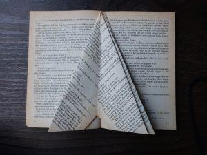Leseratte - Buchseite falten Teil 4