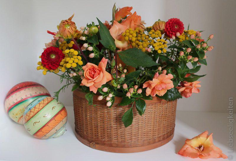 Blumenstrauß - Gelb und Orange - Sommerstrauß