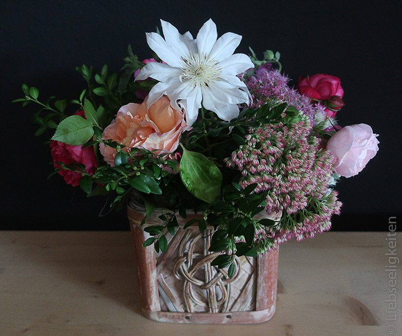 Blumenstrauß - Blumen im September - Herbststrauß