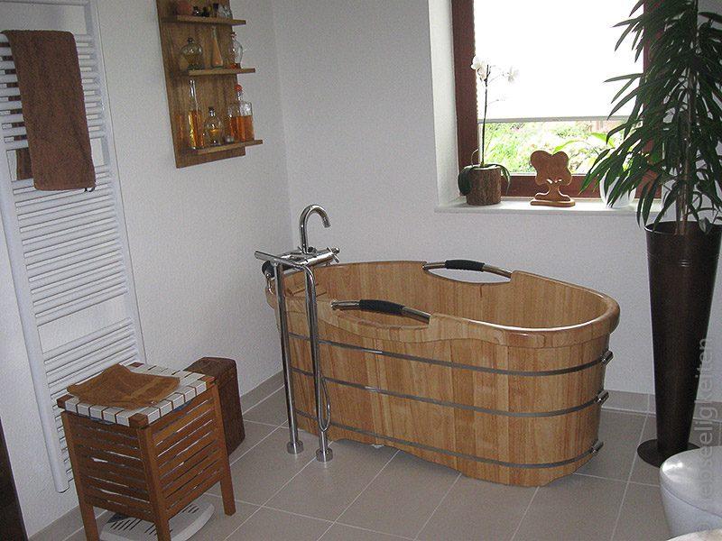 Badewanne - Badewanne aus Holz - Holzwanne