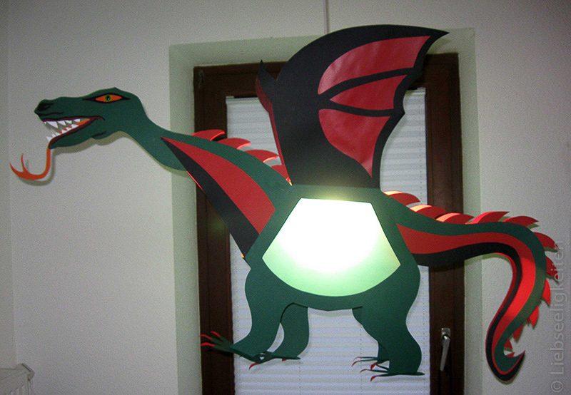 drachenlaterne -dinosaurierlaterne -dinosaurierlampe -lampe kinderzimmer