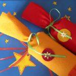 Klopapierrollen beklebt mit filz - adventskalender aus Klopapierrollen - DIY