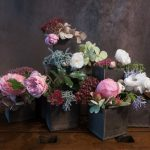 Rosen - hortensien - fette henne - blumendeko - tischdekoration - blüten - friday-flowerday