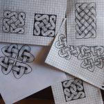 übungen für das zeichnen von keltischen knoten