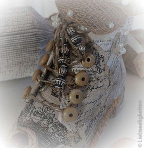 Upcycling alte Schuhe - wiederverwerten - shabby chic - schabby style - deko shabby chic selber machen
