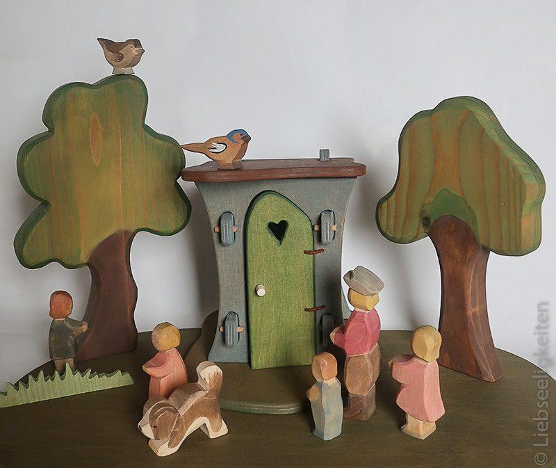 Ein Plumpsklo für die Ostheimer Figuren - Holzarbeit - werken