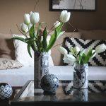 weiße Tulpen - Tulpen in gepimpter Konservendose - Liebseeligkeiten