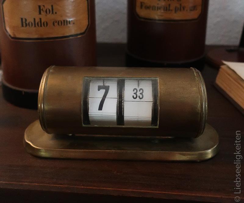 alte Uhr - Messinguhr