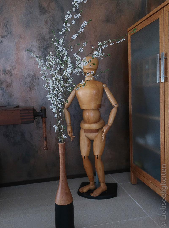 Schlehdorn in der Vase