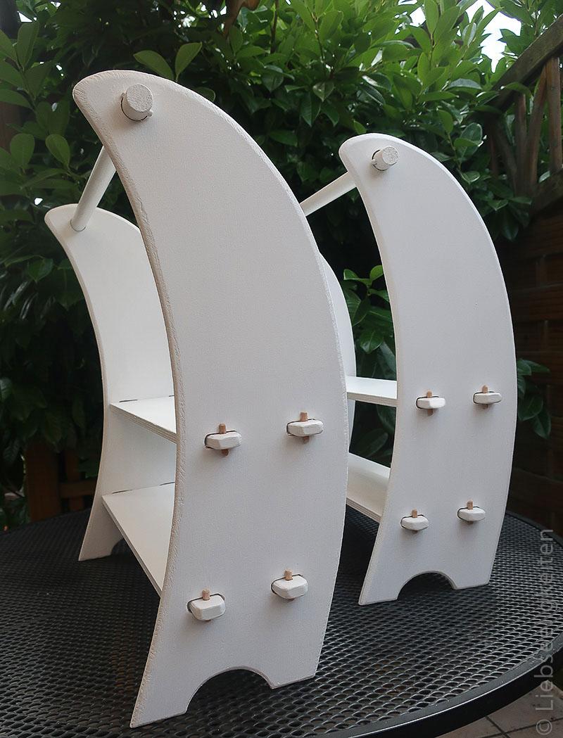 DIY Spielständer - Waldorf - Puppenstube