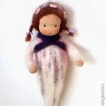 Kleine Wiegenfee - Waldorf - Puppe nach Waldorfart - Liebseeligkeitenpuppe