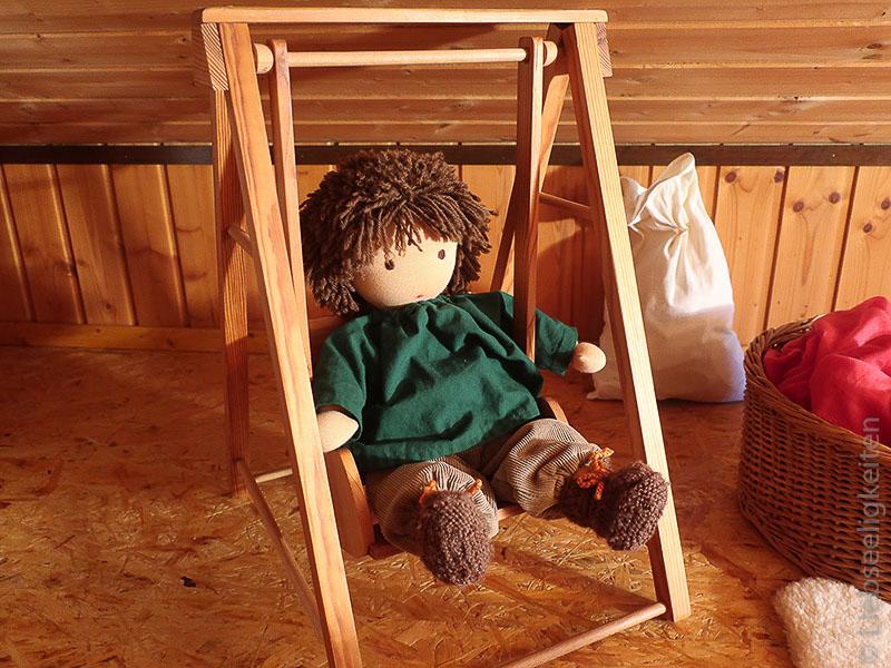 Puppe nach Waldorfart - Liebseeligkeiten