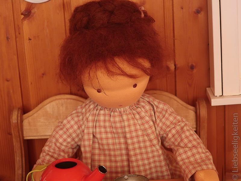 Puppe nach Waldorfart - Waldorf - Liebseeligkeiten - Stoffpuppe