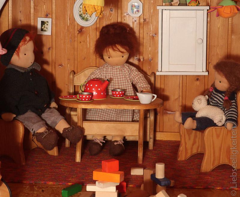 Puppen nach Waldorfart - Puppenhaus - Waldorf - Liebseeligkeiten