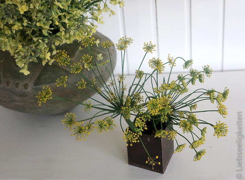 Fenchelblüten in der Vase