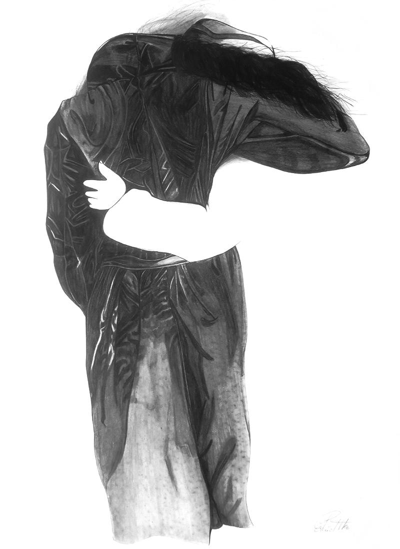 Bleistiftzeichnung-nach-einer-Lithografie-von-Bruno-Bruni