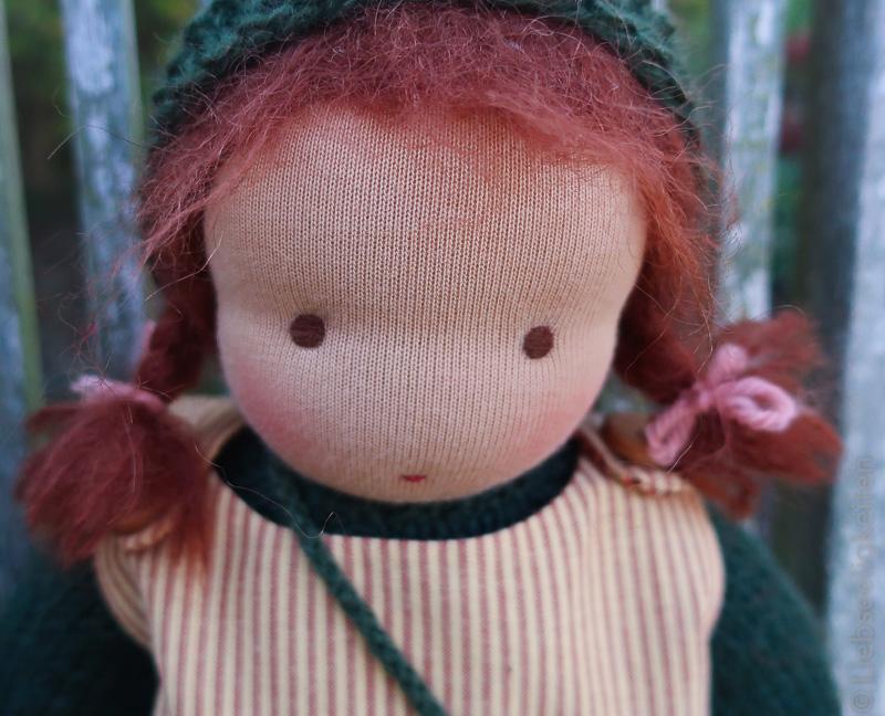 Puppe nach Waldorfart - Stoffpuppe - Liebseeligkeiten - Waldorf