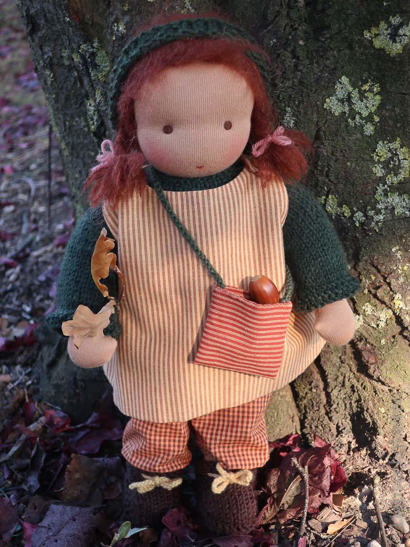 Waldorf - Puppe - Puppe nach Waldorfart - Liebseeligkeiten