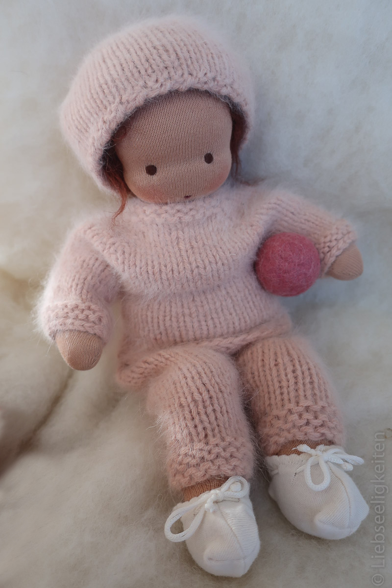 Puppe - Waldorf - Liebseeligkeiten - Puppe nach Waldorfart