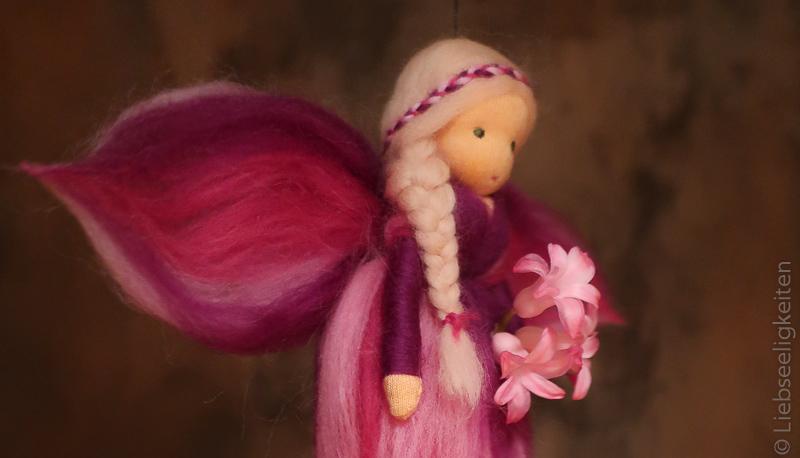 Elfe-Fee aus Märchenwolle