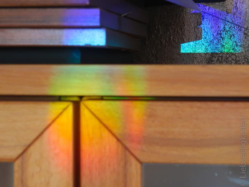 Regenbogen in der Küche - Regenbogenkristalle