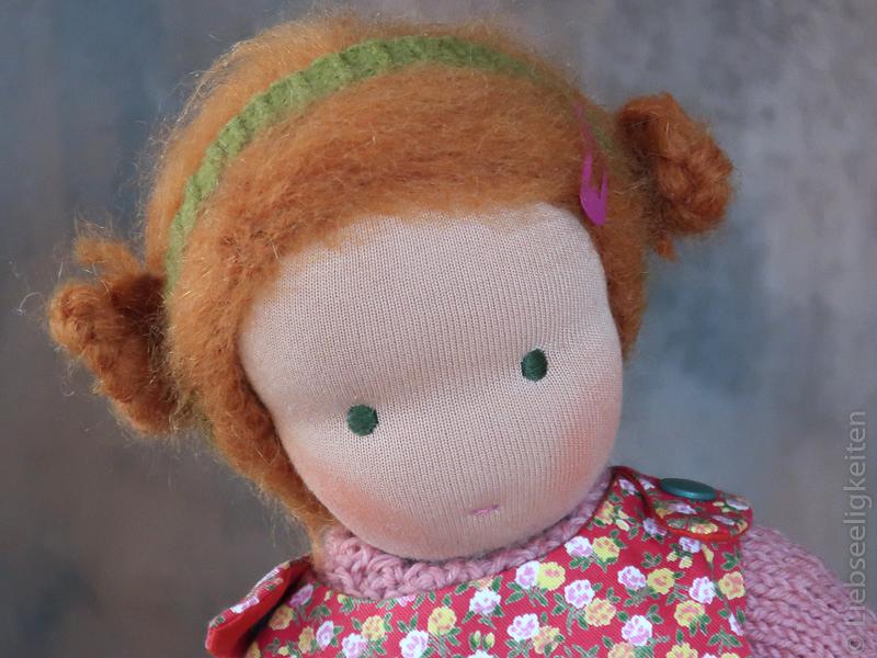 Puppe nach Waldorfart - Liebseeligkeiten - Waldorf