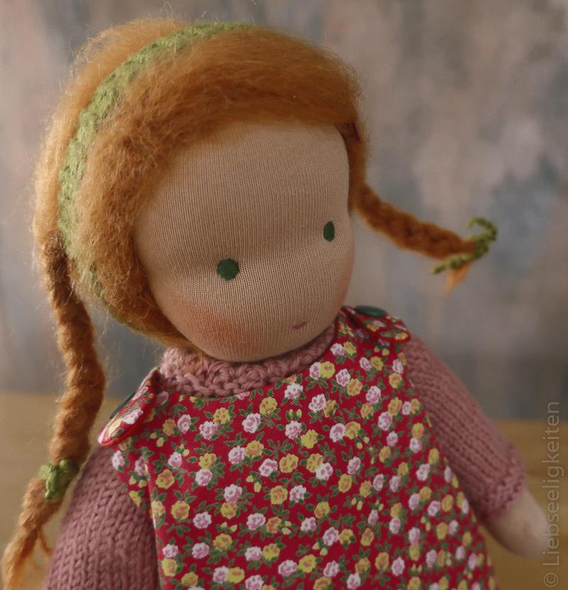 Puppe nach Waldorfart - Waldorf