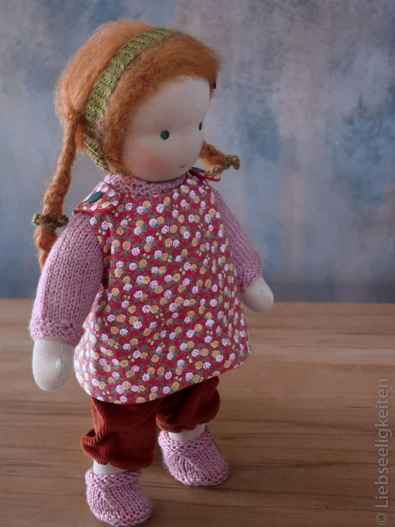 fertige Puppe nach Waldorfart - Puppe - Waldorf - Liebseeligkeiten