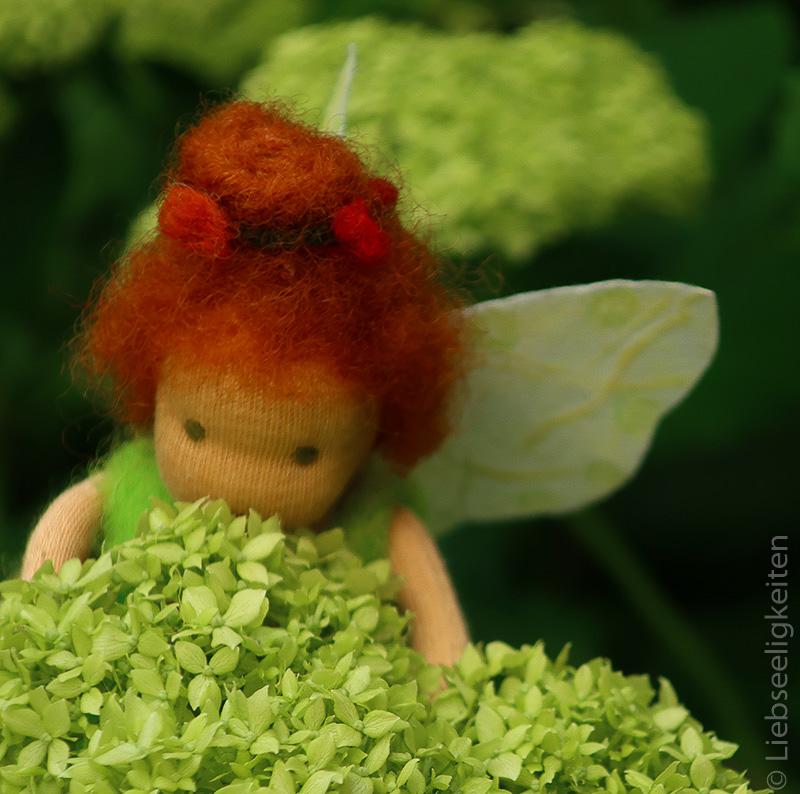 DIY - Blumenelfe in Hortensie Annabelle