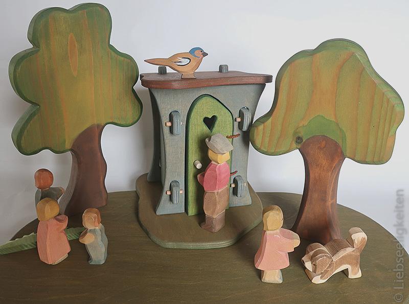 DIY Plumpsklo - Ostheimer Figuren