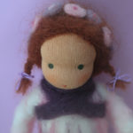 Liebseeligkeiten - Puppe nach Waldorfart - Wiegenfee