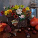 Herbststrauß - Herbstdeko - Blumen im Herbst