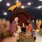 Ostheimer Krippenfiguren - DIY Kulisse für Krippenfiguren