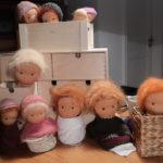 Puppe nach Waldorfart - Puppenköpfe - Waldorf - fertige Puppenköpfe